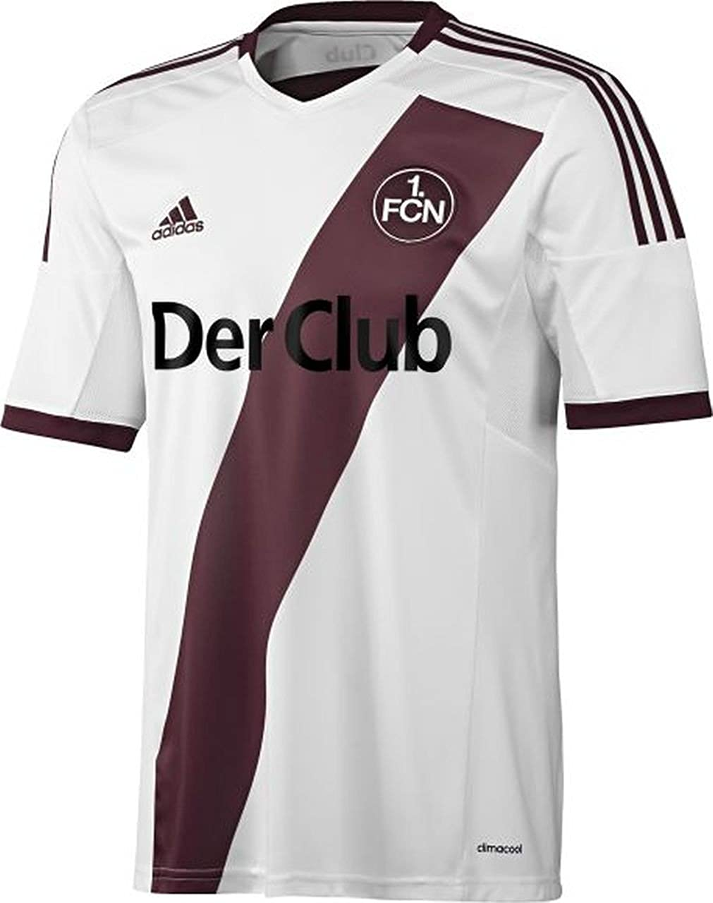 adidas - Camiseta del Equipo de fútbol 1 FC Núremberg ...