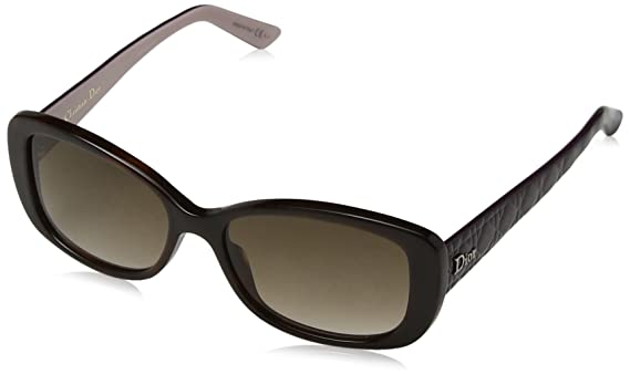 Christian Dior Damen Sonnenbrille LADYINDIOR2 JD Czz, Blau (Havplumbluesh/Brown Sf), 53