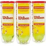 Bola De Tenis Wilson Championship - Pack 09 Bolas - 03 Tubo