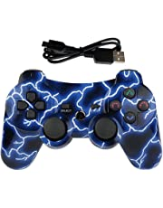 Mando PS3 Inalámbrico para PS3 Controller Bluetooth para Playstation 3 - Lightning Blue