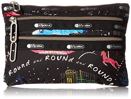 dc9a7119a7 Search results. wonderland makeup. LeSportsac Classic 3 Zip Pouch ...