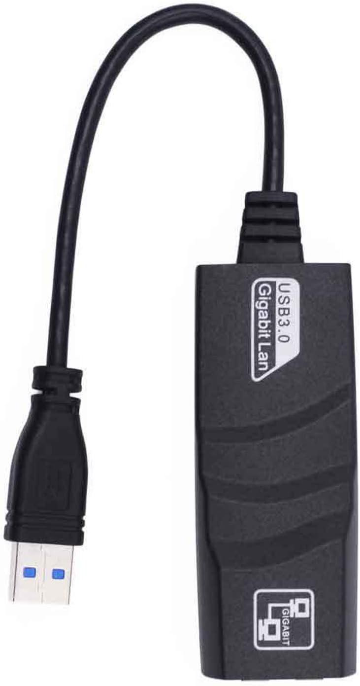 Vaorwne USB 3.0 to 10//100//1000 Mbps Gigabit Rj45 Ethernet LAN Network for Pc
