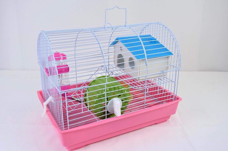 Verde Pets Solution Gabbia Criceto Piccoli roditori 2 Piani