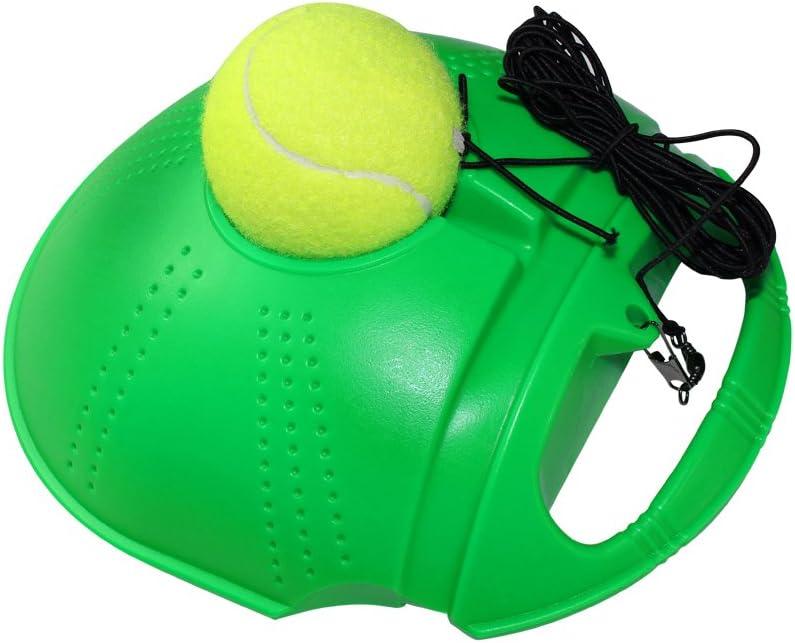 Disco FANGCAN tenis entrenador para entrenamiento (verde) en ...