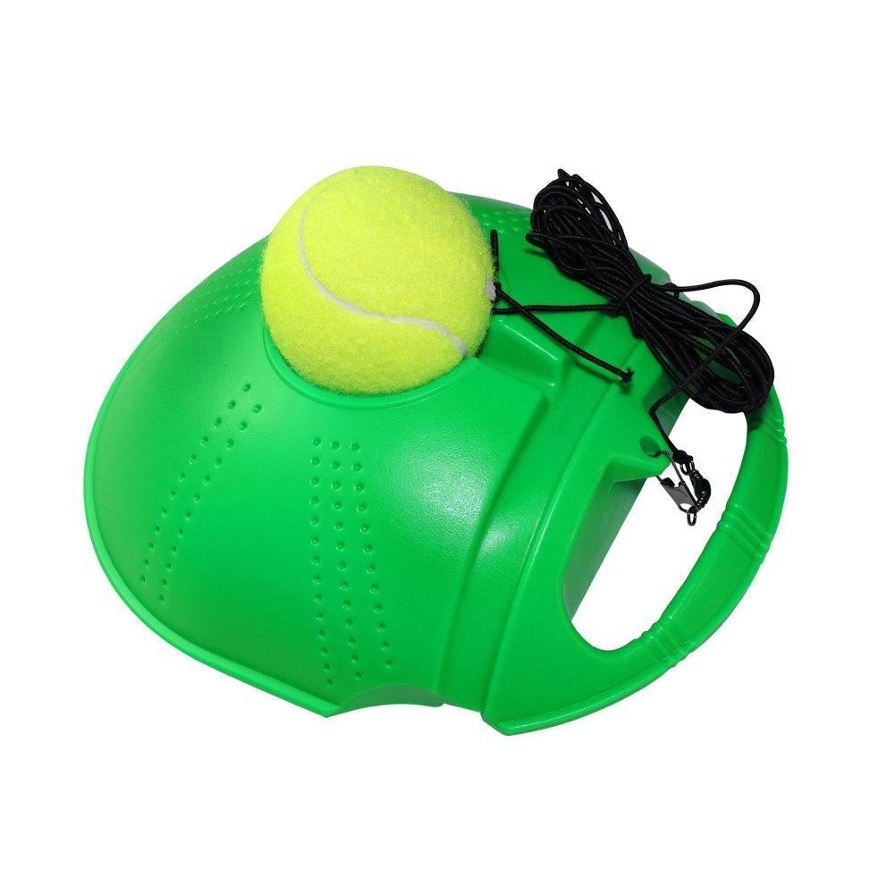 Disco FANGCAN tenis entrenador para entrenamiento (verde) en solitario