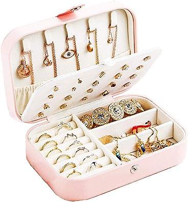 Organizador de caja de joyería de viaje personalizado: estuche de ...