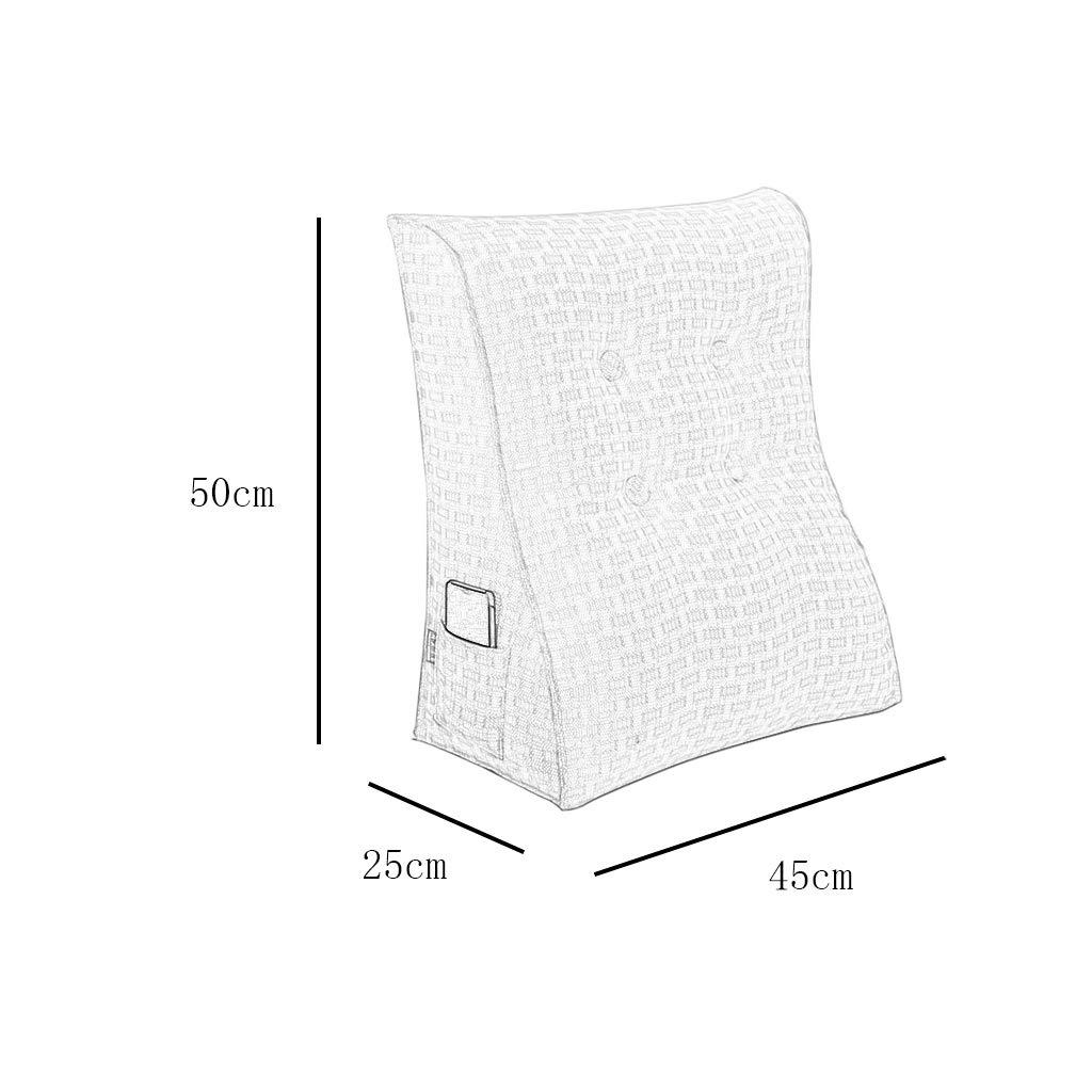 DUHUI Bed Wedge, Wedge Wedge Wedge für Wohnzimmer und Schlafzimmer, Sleeping Wedge, um die Wirbelsäule zu entlasten Pill Stillkissen fürs Liegen und Sitzen (Farbe   J, größe   55x60x25cm) B07KQQGGXJ Kissen Aktuelle Form 32905e