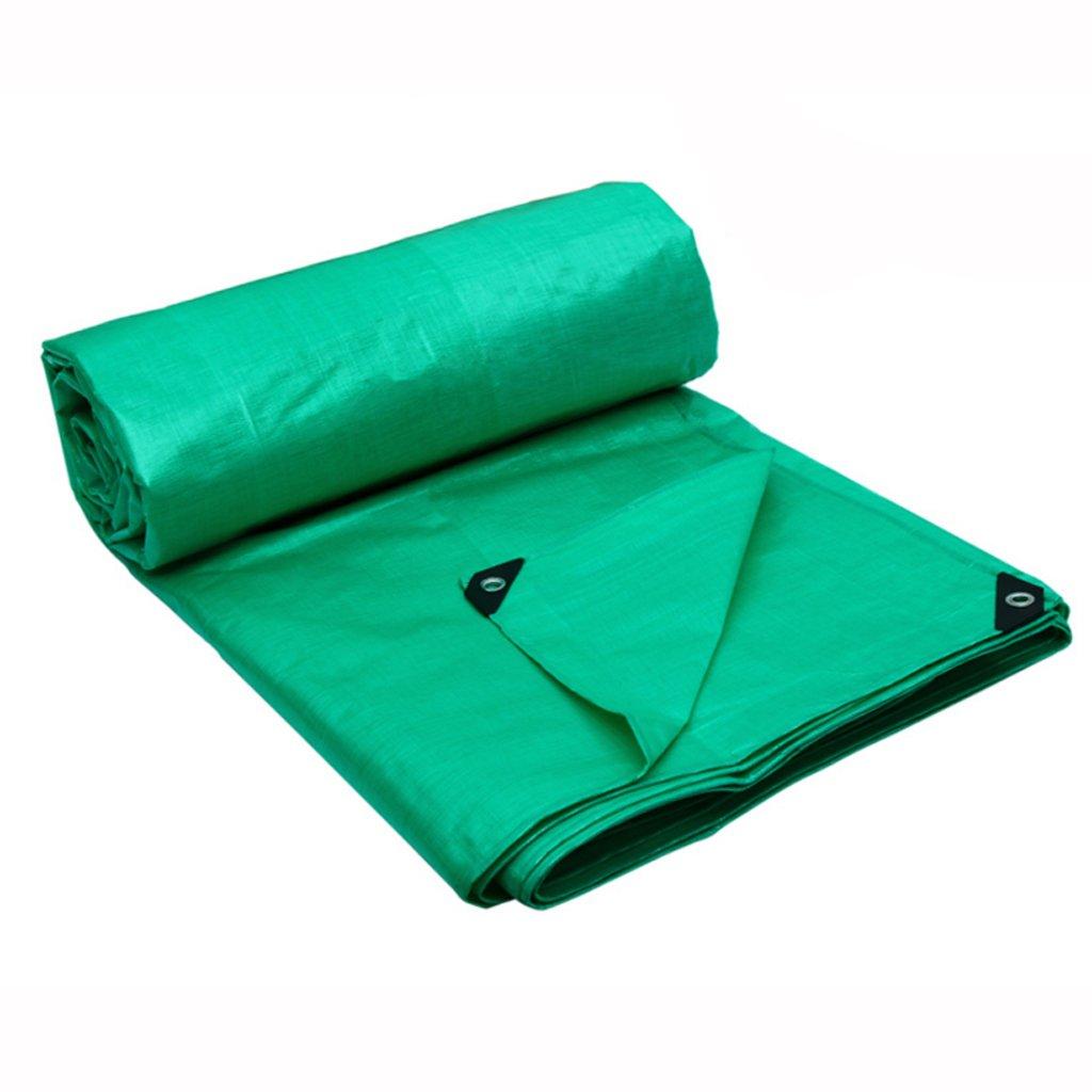 ターポリンプラスチックシートリング屋外シェード布ターポリントラックターポリンキャノピーキャンバス (色 : Both sides green, サイズ さいず : 5*4m) B07FHXV625 5*4m|Both sides green Both sides green 5*4m