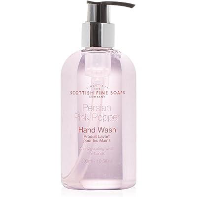 Scottish Fine Soaps Aromas del Mundo - Gel de manos Pimienta Rosa de Persia 300 ml