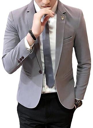 75b9cbfd35fb4 DeBangNi メンズ 綿 ジャケット テーラード 長袖 春夏秋服 純色 紳士服 ビジネス スーツ ジャケット