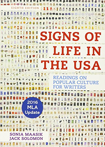 Signs of Life in the USA with 2016 MLA Update: Readings on Popular Culture for - Usa In Popular