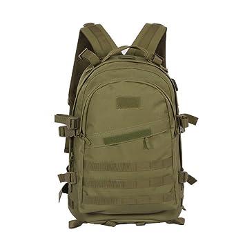 Ponixa Tactical MOLLE Mochila 30L Outdoor Militar Resistencia al Agua Mochila Hidratación (sin vejiga) Mochila para Camping (Verde): Amazon.es: Deportes y ...