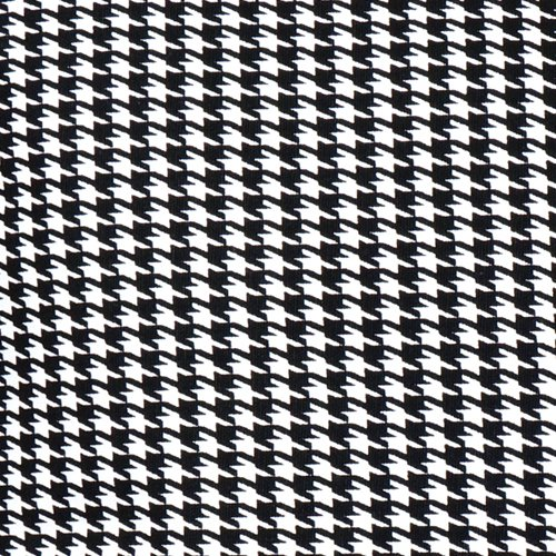 - Upholstery Fabric Ticking Black and White Houndstooth Curtains Drapery Couch Sofa Pillows 54