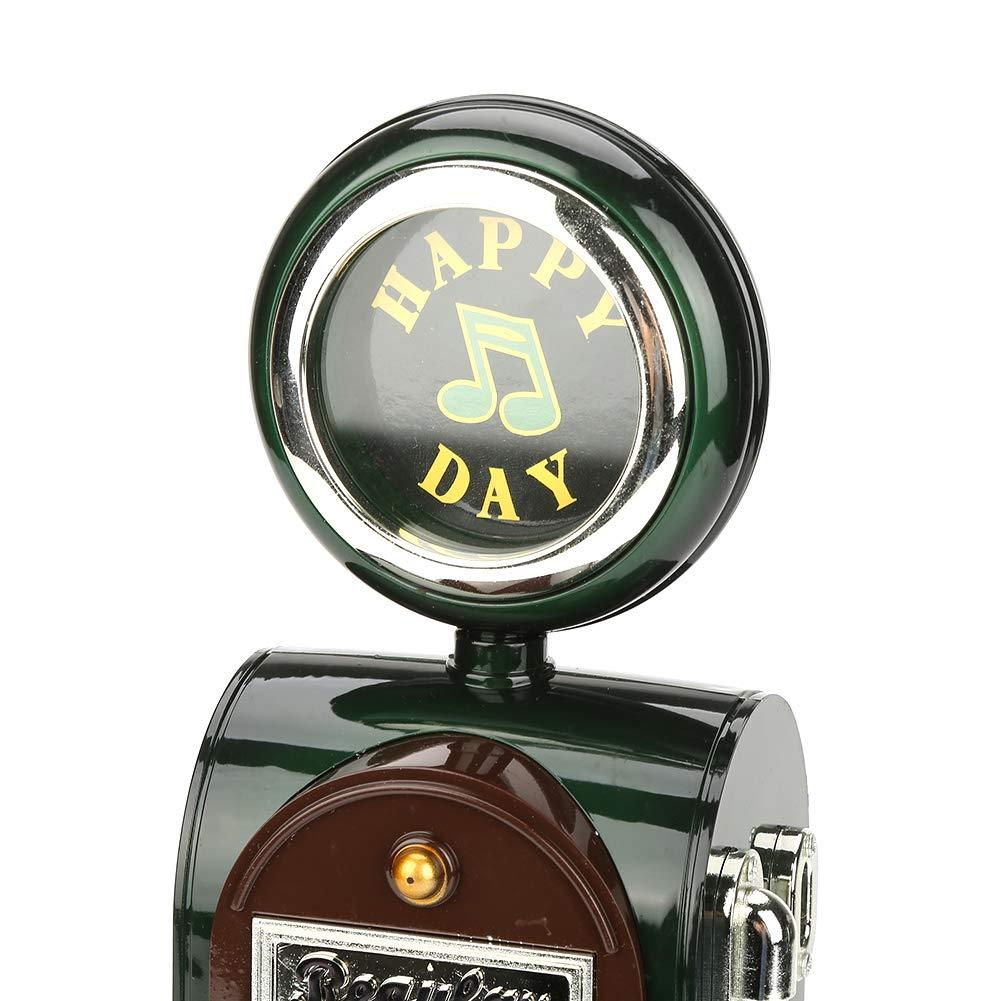 Semme Klassische Spieluhr Kraftstoffspender Form Lagerung Spieluhr Retro Spieluhr f/ür Jungen M/ädchen Geschenke Dekoration