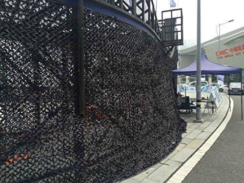 Red de camuflaje para usos militares, tienda de campaña, protección de coche, caza, 3 x 4 m, negro: Amazon.es: Deportes y aire libre