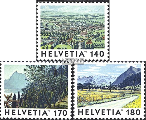 Switzerland 1655-1657 (Complete.Issue.) 1998 Images The Switzerland (Stamps for Collectors)