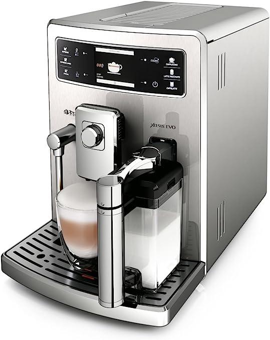 Saeco Xelsis EVO - Cafetera espresso súper automática, con ...