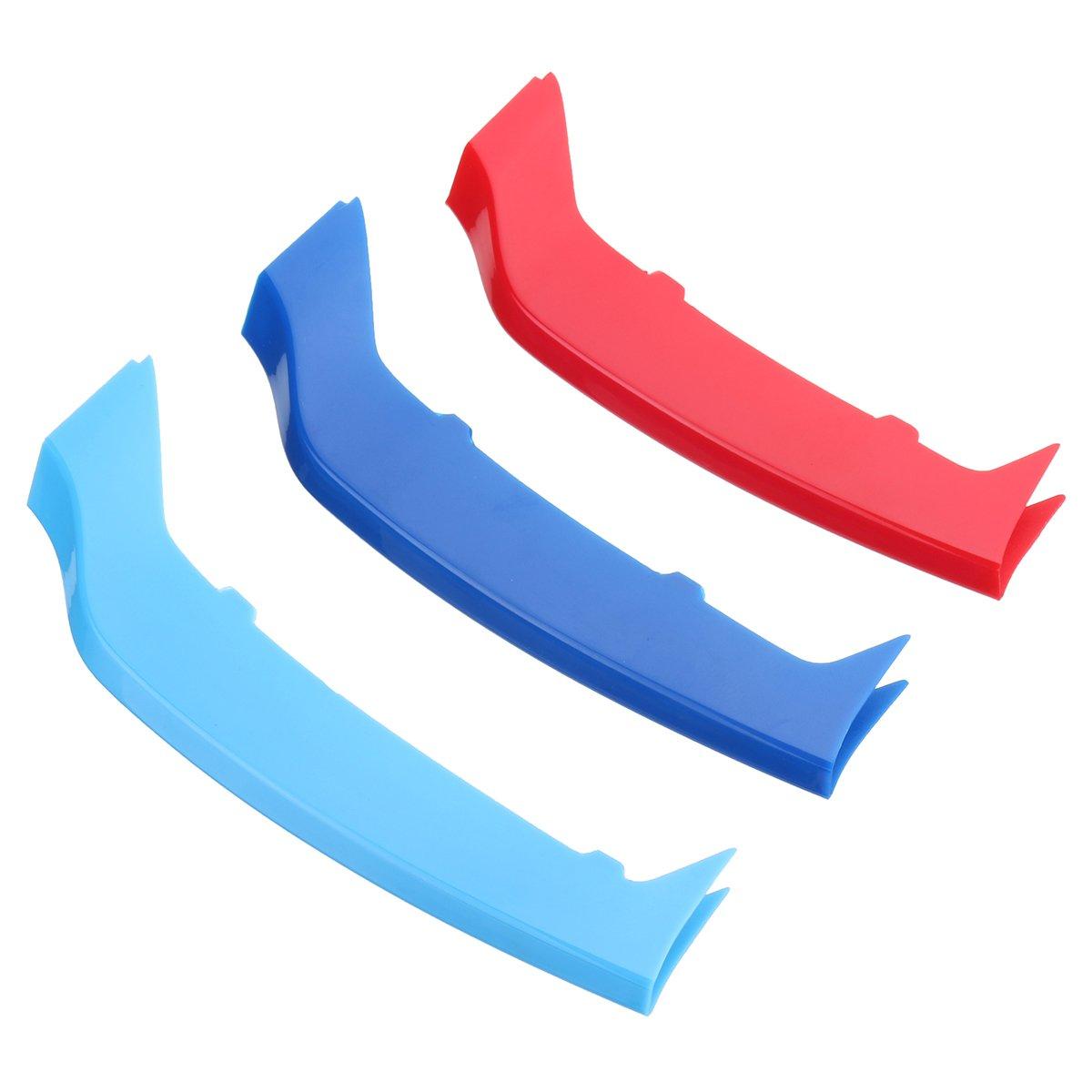 Forspero Tri Colore Griglia Anteriore Copertura Trim Striscia Per Bmw Serie 4 F32 F33 14-17