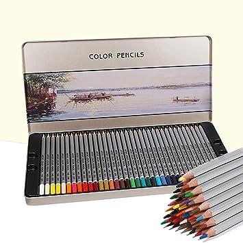 YaToy Lápices de Dibujo de Colores 36 Unidades para niños y ...