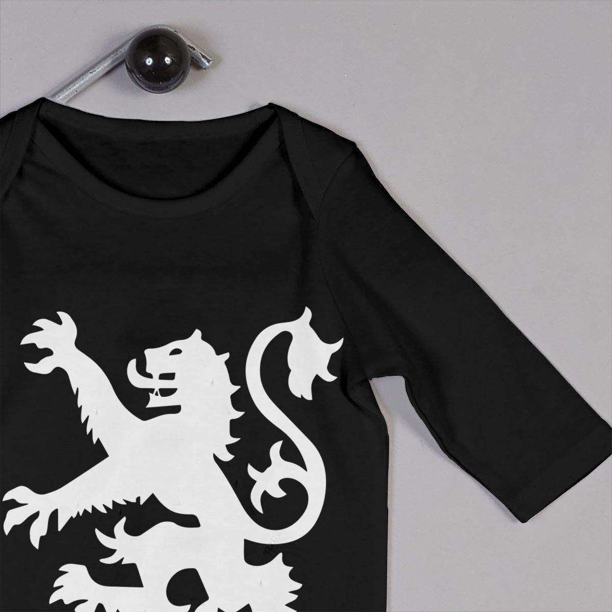A1BY-5US Baby Infant Toddler Cotton Long Sleeve Lion Rampant Scotland Scottish Climb Romper One-Piece Romper Clothes
