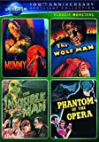 Classic Monsters Spotlight Collection (The Mummy (1932) / The Wolf Man / The Invisible Man / Phantom of the Opera (1943)) (Universal's 100th Anniversary Edition)