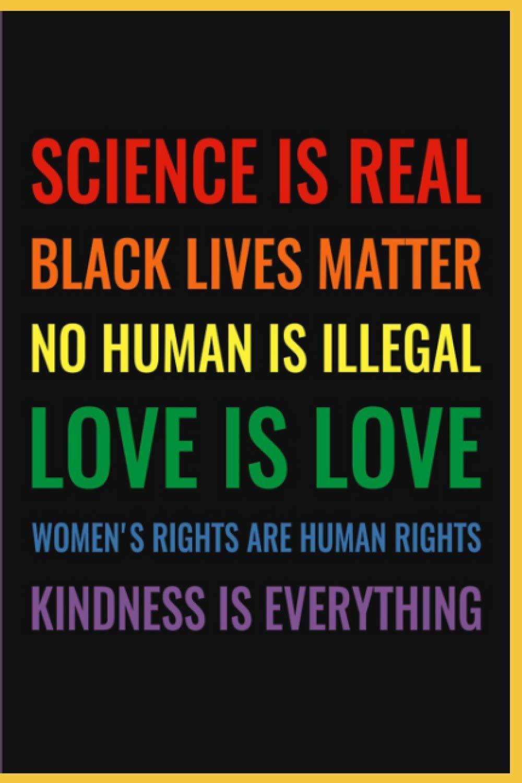 Science Is Real Black Lives Matter Bullet Journal Project Planner For Suzuko Mori Bücher