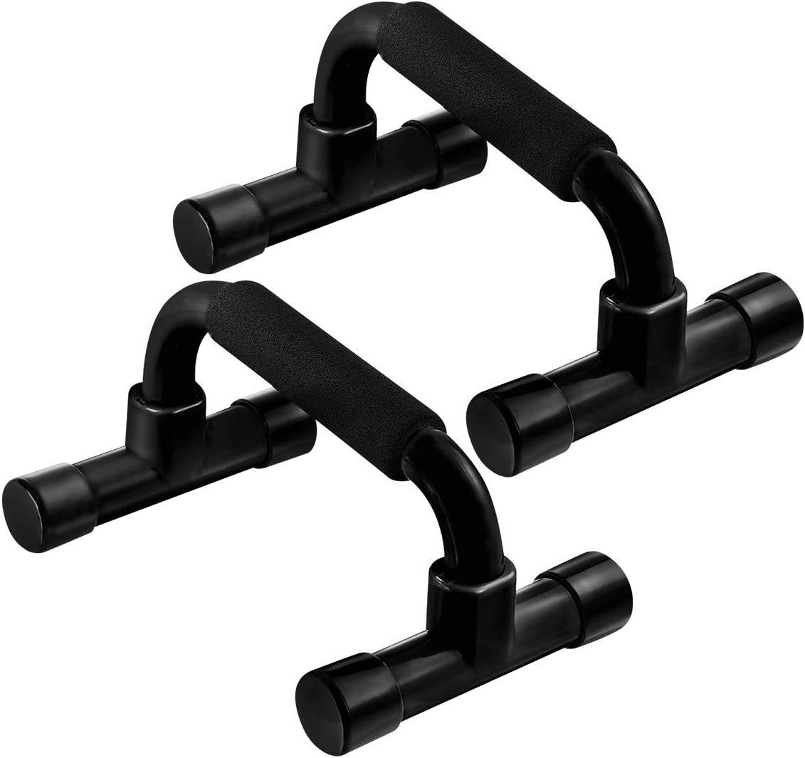 SOONHUA Push-up I-Shaped Bracket Push Up Bars Pushup Handle with Cushioned Grip Home Workout Fitness Equipment