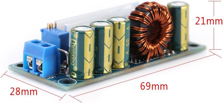 Boost-Buck Convertidor paso arriba//abajo regulador de voltaje DC-DC 5V-30V a 0.5V-30V 35W 3A m/ódulo de fuente de alimentaci/ón