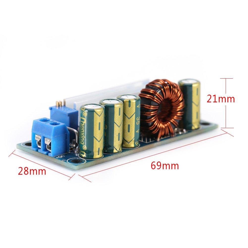 Akozon Boost Convertisseur Module Convertisseur /él/évateur//abaisseur CV 35W 3A CC Convertisseur dalimentation CC-DC 5V-30V /à 0.5V-30V