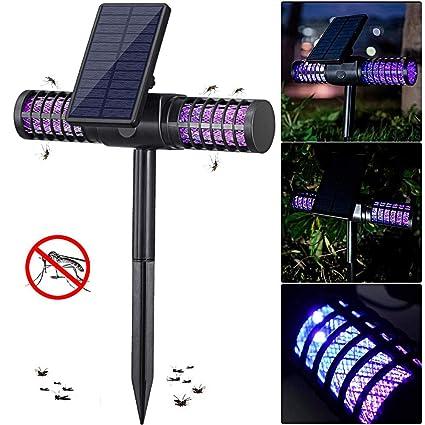 Insektenvernichter Moskito Killer Mückenfalle, UV Insektenvernichter  Mückenlampe Schutz vor Elektrischem SchlagTragbare Insektenlampe gegen  Mücken, ...
