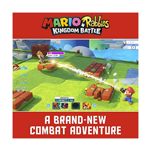 Mario + Rabbids Kingdom Battle - Nintendo Switch Standard Edition 4