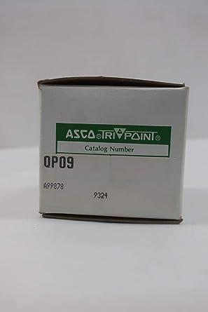 ASCO QP09 TRIPOINT Temperature Transmitter Aluminum JAM NUT ...