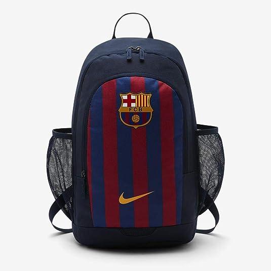 Tubería Falange toque  Nike Mochila Stadium FC Barcelona Bkpk, Unisex Adultos, color Obsidian/Deep  Royal: Amazon.es: Zapatos y complementos