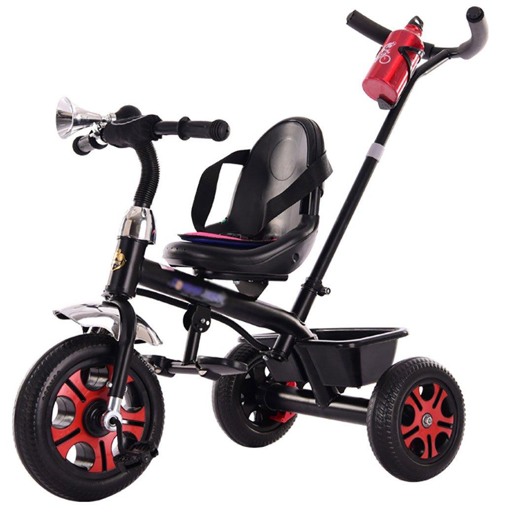 子供用トライク、三輪車の乗り物バイク、赤ちゃんの滑り自転車、おもちゃの自転車、自転車の子供、フットペダルの3つの車輪 (色 : D) B07CZDVJS1D