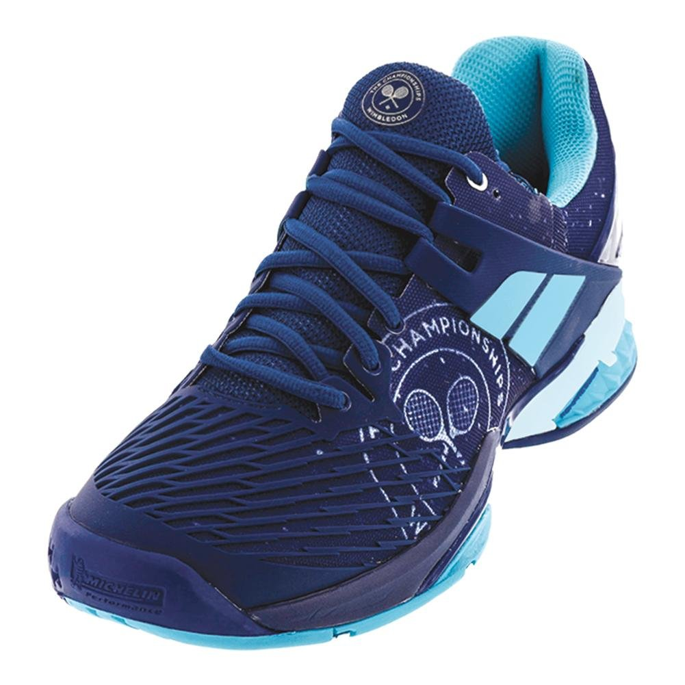 Babolat Propulse Fury Wimbledon Men's Tennis Shoe, Dark Blue B072LK45W7 9 D(M) US|Dark Blue