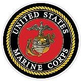 united states marine corps decal - USMC Marine Corps X Small Decal 3