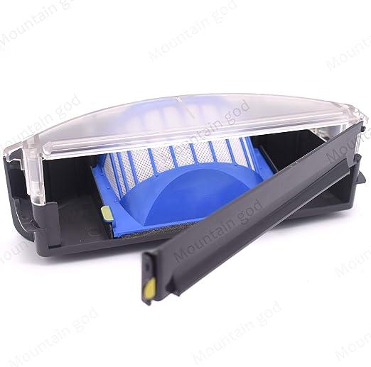 Filter /& Brush for iRobot Roomba 600 Series 630 696 650 651 660 645 670 675 610