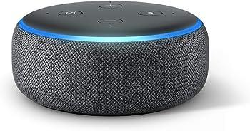2-Pack Echo Dot (3rd Gen) Smart Speaker with Alexa