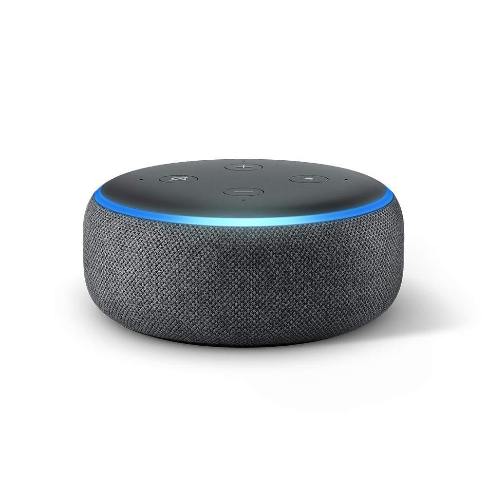 Echo Dot (3rd Gen) - Smart speaker with Alexa - Charcoal by Amazon