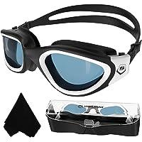 WIN.MAX Goggles de Natación polarizadas,protección Anti-vaho protección UV sin filtraciones visión Clara fáciles de…