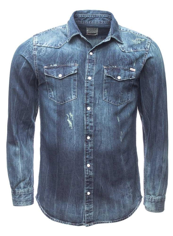 JACK & JONES VINTAGE Herren Freizeit Hemd Jjvdayton Shirt L/s Western
