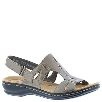 d0c47db2b95c Image Unavailable. Image not available for. Color  CLARKS Womens Leisa  Lakelyn Open Toe Casual Ankle Strap Sandals ...