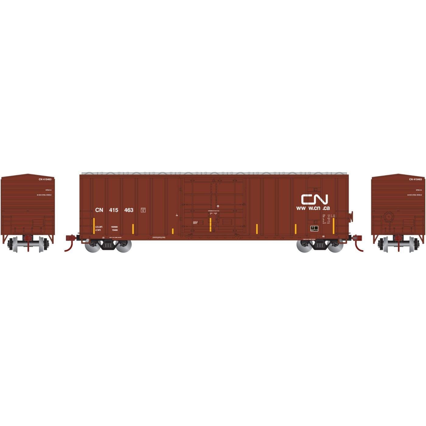 有名ブランド Athearn ath87425 , Ho Plug RTR RTR 50 ' FMC SUPERIOR Plug Door Box , CN # 415463 B076828HVX, Interior shop モビリグランデ:22e01f99 --- sabinosports.com