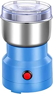 Grinder for Spices and Seeds, Multifunctional Smash Machine household portable electric food grinder suitable for coffee beans grains seasonings, and spices