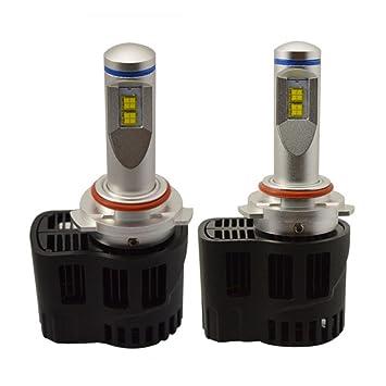 Bombilla LED Canbus para coche, sin error, HIR2, 110 W, 10 400 lm, 6000 K, cabezal 9012: Amazon.es: Deportes y aire libre