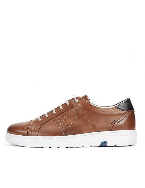 Y Zapato F0094 Marino Amazon Zapatos Cuña Mujer es Fluchos 448BTf