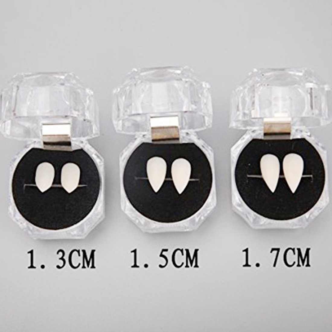 NIGHT-GRING Halloween Party Cosplay Prop Decoration Vampire Tooth Horror False Teeth 6 pieces zy-Halloween Tooth