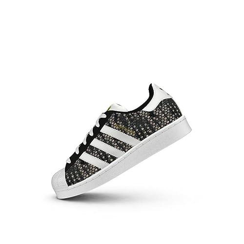 Adidas Superstar Zapatillas para Mujer Negro, 38: Amazon.es: Zapatos y complementos
