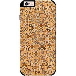 DailyObjects Bubbles Real Wood Bamboo Case For iPhone 6 Plus