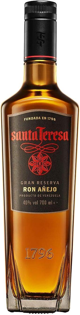Santa Teresa Ron Oscuro Gran Reserva, 700ml: Amazon.es ...